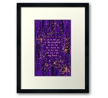 Once Upon a Starlight Framed Print