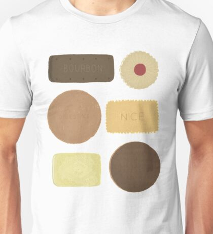 Tasty British Biscuits Unisex T-Shirt