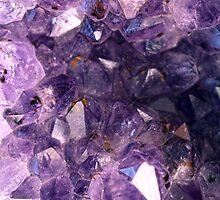 Amethyst crystals by mayalenka