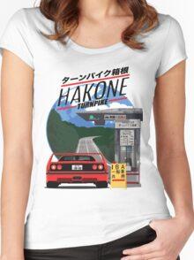 Hakone Ferrari F40 Women's Fitted Scoop T-Shirt