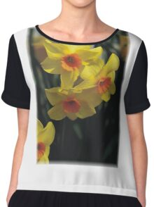 Daffodiles Chiffon Top