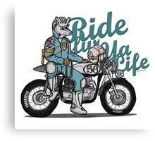 Ride fur ya life: Wolfman Canvas Print