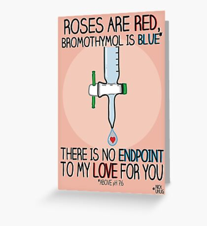 Roses are red Greeting Card
