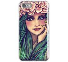 mint hair iPhone Case/Skin