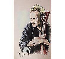 Sting Photographic Print