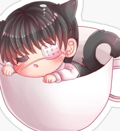 Chibi Neko Kaneki Sticker