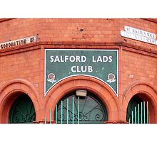 Salford Lads Club - The Smiths by footypix