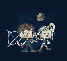 The Odd Couple by DoodleHeadDee