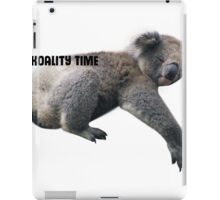 Koality Time iPad Case/Skin