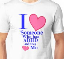 ADHD awareness shirt kids adults Special tees for special people Unisex T-Shirt
