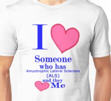 ALS awareness shirt kids adults Special tees for special people Unisex T-Shirt