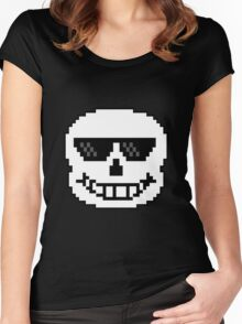 50 Shades of Sans #1 Women's Fitted Scoop T-Shirt