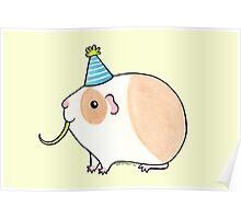 Celebration Guinea-pig Poster