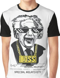 "Einstein ""The Boss"" Graphic T-Shirt"