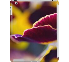 violet in the garden iPad Case/Skin