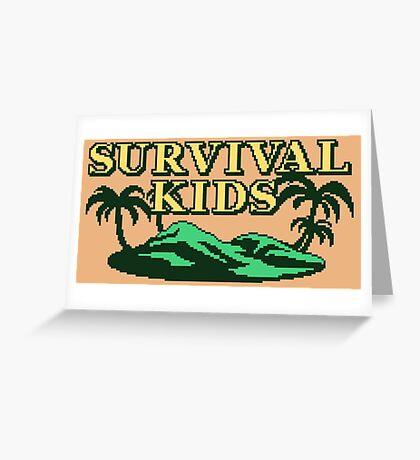 Survival Kids (GBC Title Screen) Greeting Card