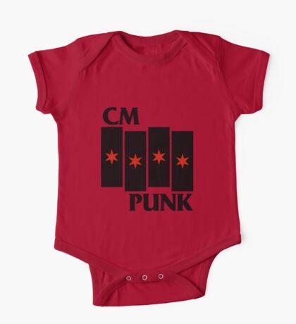 CM Punk Black Flag One Piece - Short Sleeve