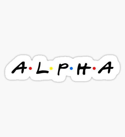 alpha friends~ Sticker