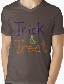Trick and Treat Mens V-Neck T-Shirt