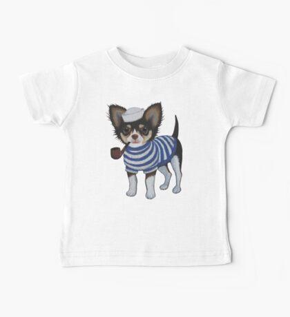 Sailor Chihuahua Baby Tee