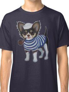 Sailor Chihuahua Classic T-Shirt