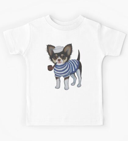 Sailor Chihuahua Kids Tee