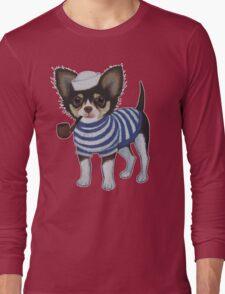 Sailor Chihuahua Long Sleeve T-Shirt