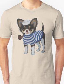 Sailor Chihuahua Unisex T-Shirt