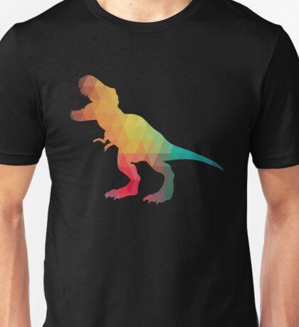 Rainbow color T-Rex  Unisex T-Shirt