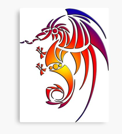 Dragissous V1 dragon Canvas Print