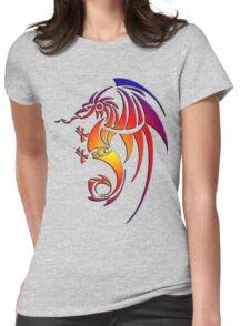 Dragissous V1 dragon Womens Fitted T-Shirt