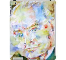 WINSTON CHURCHILL  - watercolor portrait iPad Case/Skin