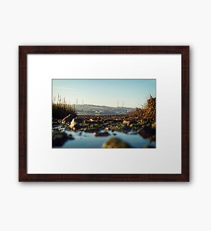 scenic river view of Bentlass Framed Print