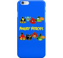 angry heroes iPhone Case/Skin