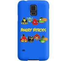 angry heroes Samsung Galaxy Case/Skin