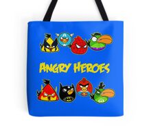 angry heroes Tote Bag