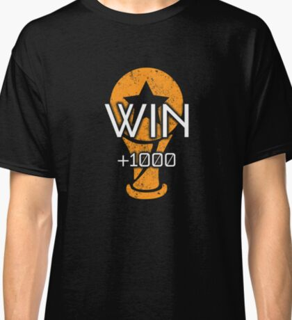 Rocket Leaugue Video Game Win +1000 Funny Gifts Classic T-Shirt