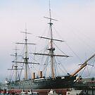 HMS Warrior by Michael Birchmore