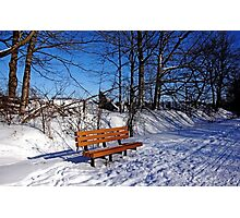 Winter Time Out Photographic Print