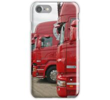 Red Scania's iPhone Case/Skin