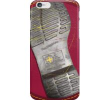 Dr. Martens Boot Sole Oxblood iPhone Case/Skin