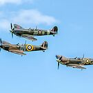 A Vic of Spitfires by Colin Smedley