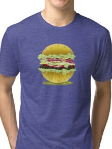 Hamburger Love Tri-blend T-Shirt