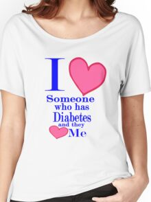 Diabetes awareness shirt special tees for special people Women's Relaxed Fit T-Shirt