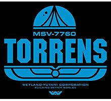 Torrens (blue) Photographic Print