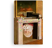 Time Transfixed for Santa Claus Canvas Print