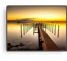 Beso del Sol Sunset Canvas Print