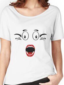 woowwwww Women's Relaxed Fit T-Shirt