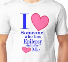 Epilepsy awareness special tees for special people Unisex T-Shirt