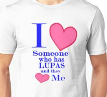 Lupas awareness shirt special tees for special people Unisex T-Shirt